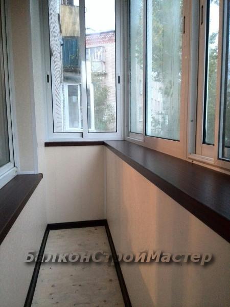 Внутренняя декоративная отделка балкона под ключ - виды отде.