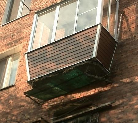 Холодное остекление балконов и лоджий алюминиевым профилем д.