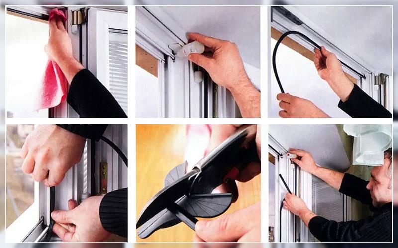 Замена уплотнителя окна своими руками