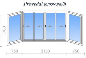Цены на остекление дома серии ii-29 в москве и подмосковье.
