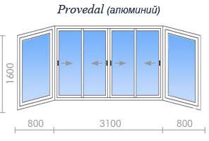Цены на остекление дома серии ii-18 в москве и подмосковье.