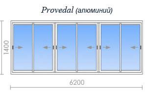 Цены на остекление дома серии и-700а в москве и подмосковье.