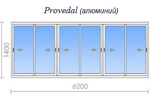 Цены на остекление дома серии ii-68 в москве и подмосковье.