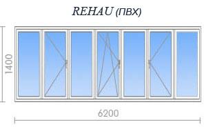 Цены на остекление дома серии и-209а в москве и подмосковье.